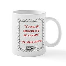 TINY INEFFECTUAL FISTS Small Mug