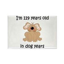 17 dog years 5 - 2 Magnets