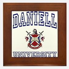 DANIELL University Framed Tile