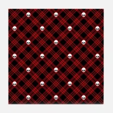 skull-plaid-red_sb.png Tile Coaster