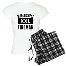 Worlds Best Fireman Pajamas