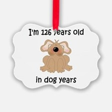 18 dog years 5 - 2 Ornament