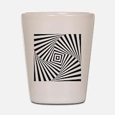 Optical Illusion Shot Glass