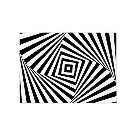 illusion optical wall wood decor rug illusions modern zazzle area geometric novelty favorite designs height pre