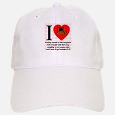I Love Cyber Sex Quote #69 Baseball Baseball Cap