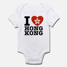 I Love Hong Kong Onesie