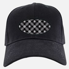 Gothic Skull Plaid Baseball Hat