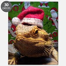 Beardie Santa Hat Puzzle