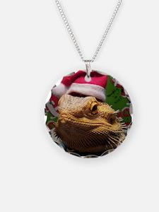 Beardie Santa Hat Necklace