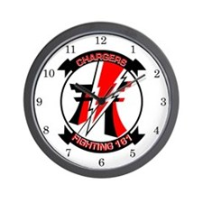 VF-161 Chargers Wall Clock