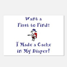 FTF Diaper Cache Postcards (Package of 8)