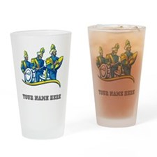 Custom Marching Band Drinking Glass