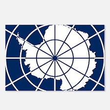 Antarctic emblem Postcards (Package of 8)