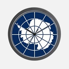 Antarctic emblem Wall Clock