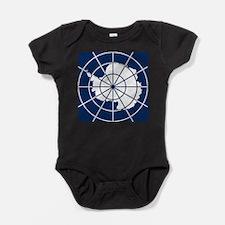 Antarctic emblem Baby Bodysuit