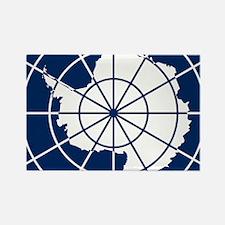 Antarctic emblem Rectangle Magnet