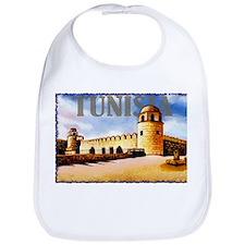 Vintage Tunisia Art Bib