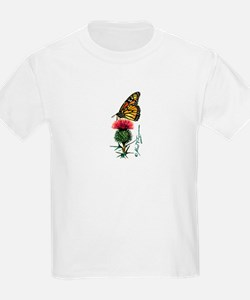 Monarch Butterfly and Thistle T-Shirt