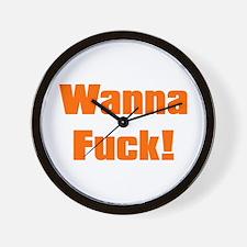 Wanna...??... Wall Clock
