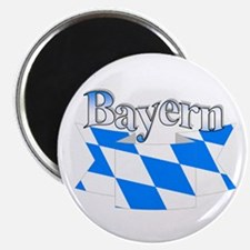 "Bayern flag ribbon 2.25"" Magnet (10 pack)"