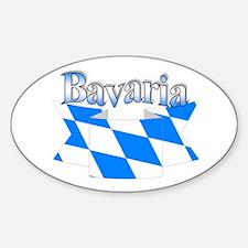 Bavarian ribbon Decal