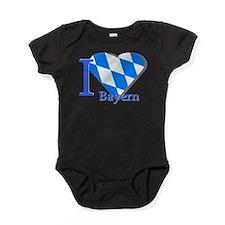 I love Bayern Baby Bodysuit