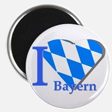"I love Bayern 2.25"" Magnet (10 pack)"