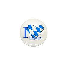I love Bayern Mini Button (10 pack)