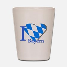 I love Bayern Shot Glass