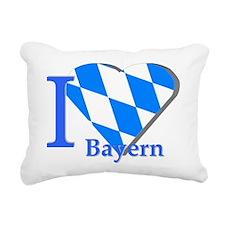 I love Bayern Rectangular Canvas Pillow