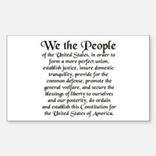 We the People US Decal