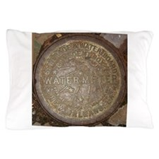 Old New Orleans Meter Lid Pillow Case