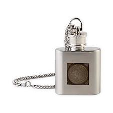 Old New Orleans Meter Lid Flask Necklace