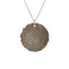 Old New Orleans Meter Lid Necklace