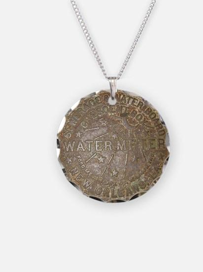 Old New Orleans Meter Lid Necklace