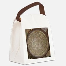 Old New Orleans Meter Lid Canvas Lunch Bag