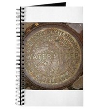Old New Orleans Meter Lid Journal