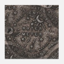 Meter Cover New Orleans Tile Coaster
