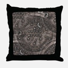 Meter Cover New Orleans Throw Pillow