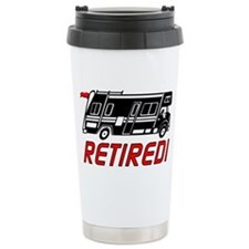 Unique Retired travel Travel Mug