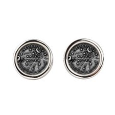 NOLA Water Meter Cover Round Cufflinks