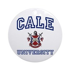 CALE University Ornament (Round)