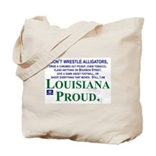LouisianaProud Tote Bag