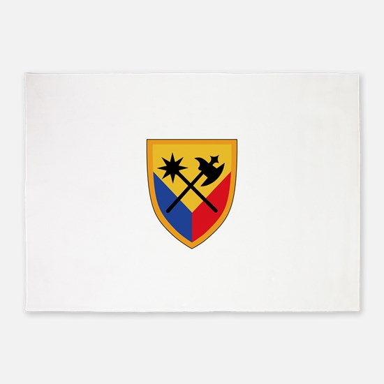 194th Armored Brigade.png 5'x7'Area Rug