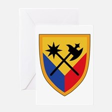 194th Armored Brigade Greeting Cards