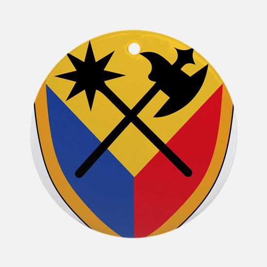 194th Armored Brigade.png Ornament (Round)