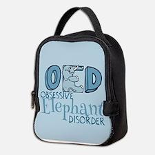 Funny Elephant Neoprene Lunch Bag