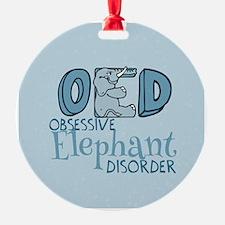 Funny Elephant Ornament