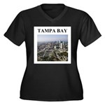 tampa bay florida gifts Women's Plus Size V-Neck D