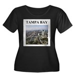 tampa bay florida gifts Women's Plus Size Scoop Ne